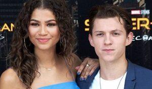 Zendaya ze swoim chłopakiem Tomem
