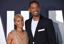 Will Smith with his wife Jada