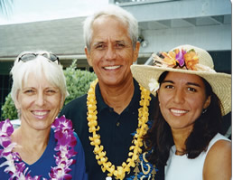 Tulsi Gabbard with her parents