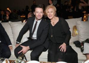 Hugh Jackman with his wife Deborra