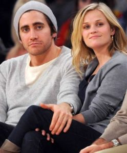 Reese Witherspoon with her boyfriend jake