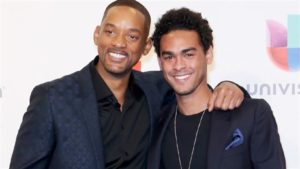 Will Smith with his son Trey