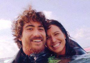 Tulsi Gabbard with her husband Abraham