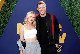 Cassie Randolph with her boyfriend Colton