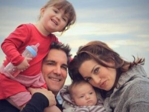 Grant Cardone with his wife & kids