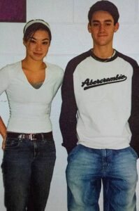Cooke Maroney with his sister
