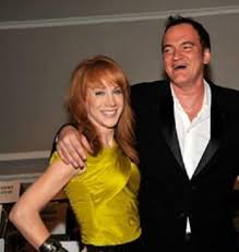 Quentin Tarantino with his ex-girlfriend Kathy