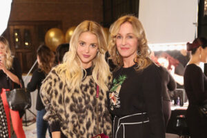 Kaitlynn Carter with her mother
