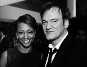 Quentin Tarantino with his ex-girlfriend Nichole