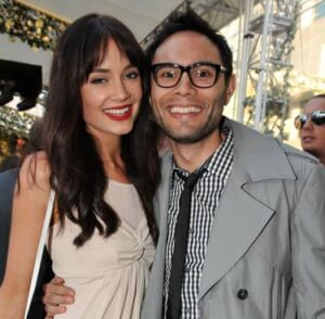 Mallory Jansen with her husband