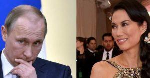 Vladimir Putin & Wendi Murdoch