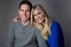 Tarek El Moussa with his ex-wife