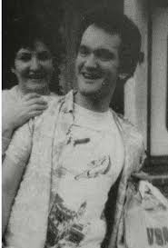 Quentin Tarantino with his mother