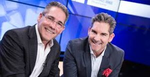 Grant Cardone with his brother