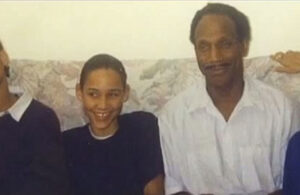 Lolo Jones with her father