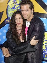 Ryan Reynolds with his ex-girlfriend Alanis