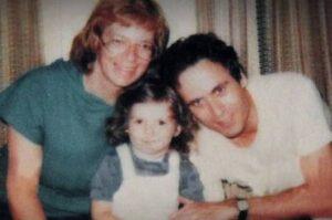 Carole Ann Boone with her ex-husband & kid