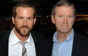 Ryan Reynolds with his father