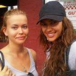 Tatiana Shaykhlislamova with her sister