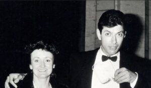 Patricia Gaul with her ex-husband