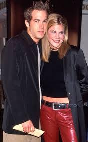 Ryan Reynolds with his ex-girlfriend Kristen