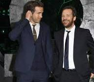 Ryan Reynolds with his brother Patrick