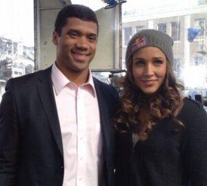 Lolo Jones with her ex-boyfriend Russell
