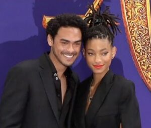Trey Smith with his sister Willow