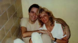 Carole Ann Boone with her ex-husband