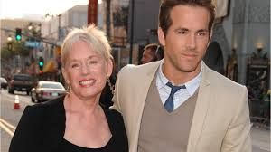 Ryan Reynolds with his mother