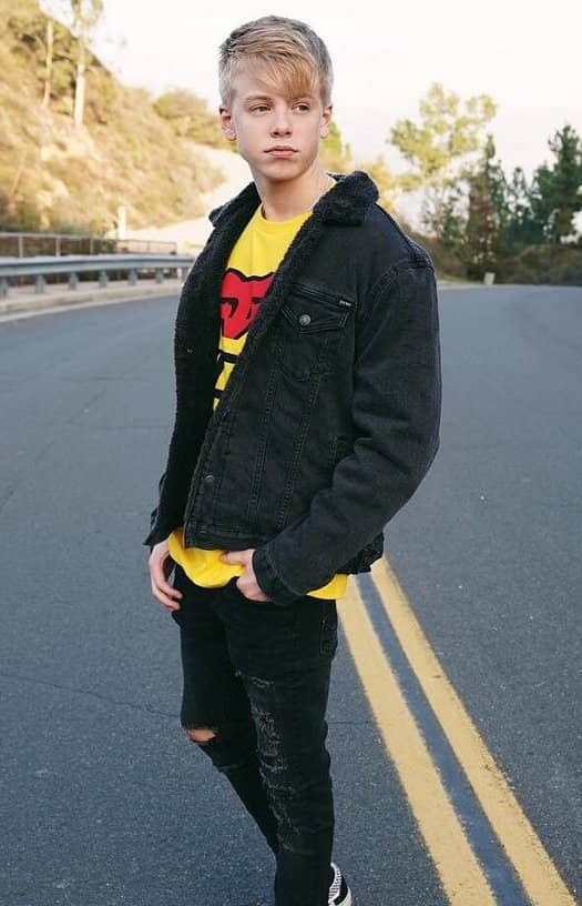 Carson who lueders girlfriend is Wish She