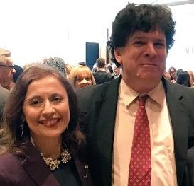 Eric Weinstein with his wife