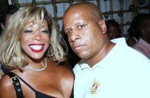 Kevin Hunter with his wife