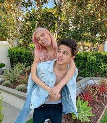 Brent Rivera with his ex-girlfriend Lexi