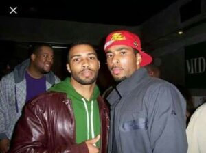 Omari Hardwick with his brother Malik