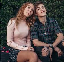 Johnny Orlando with his ex-girlfriend Nadia