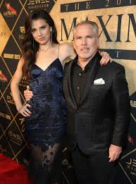 Maya Henry with her father
