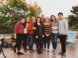 Joshua Bassett with his family