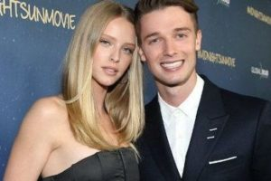 Patrick Schwarzenegger with his girlfriend Abby