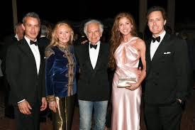 Ralph Lauren with his wife & children