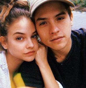 Barbara Palvin with her boyfriend