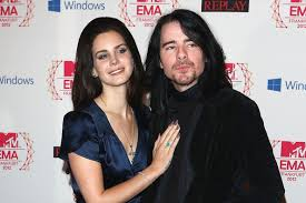 Lana Del Rey with her ex-boyfriend Barrie