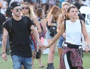 Sofia Richie with her ex-boyfriend Brooklyn