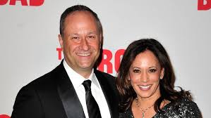 Kamala Harris with her husband Douglas