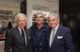 Ralph Lauren with his brothers