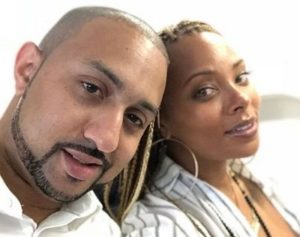 Michael Sterling with his wife