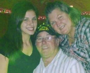 Leah Gotti with her parents