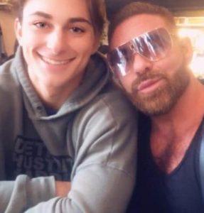 Scott Barnes with his Gay Partner