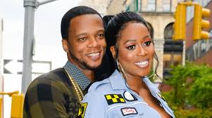 Remy Ma with her husband Shamele