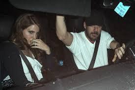 Lana Del Rey with her ex-boyfriend Shannon